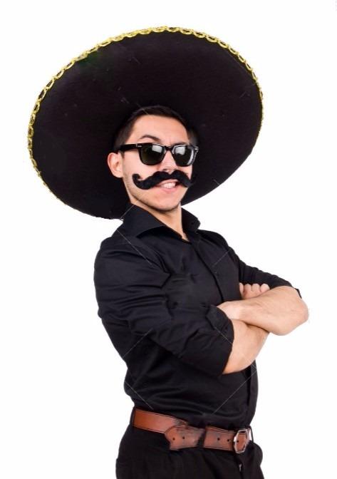 Sombrero Gorro Mariachi Mexicano Gigante + Lentes -   359 ab374047abf