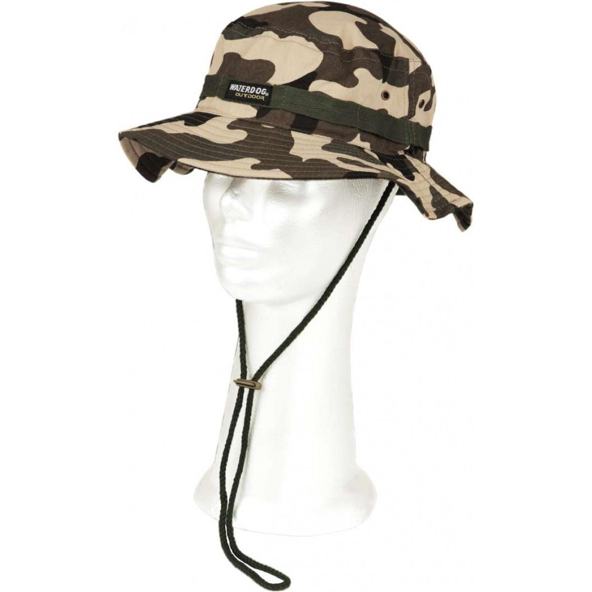 sombrero gorro piluso waterdog cap508 camuflado militar uv. Cargando zoom. c01950b803b
