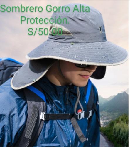 sombrero gorro protección agrícola