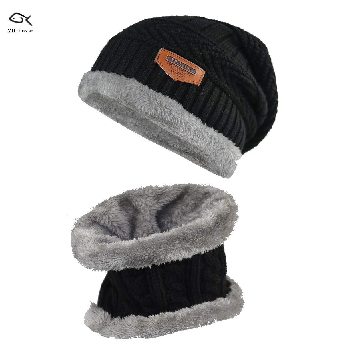 f8765d46a sombrero hecho punto de la bufanda del sombrero caliente. Cargando zoom.