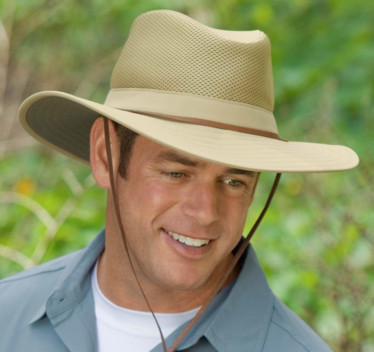sombrero highlander con protección solar upf 50+. Cargando zoom. 774e8b42f45