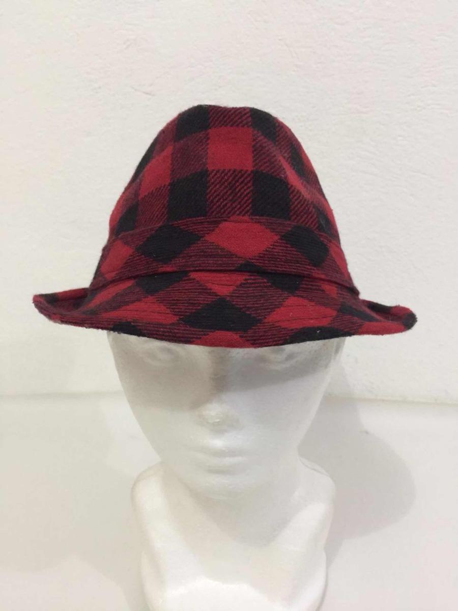 Sombrero Hipster Rojo Negro Talla Único -   330.00 en Mercado Libre d281af9634c