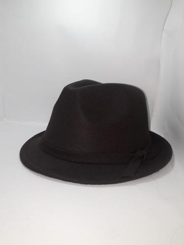 sombrero  hombre en paño talla ajustable