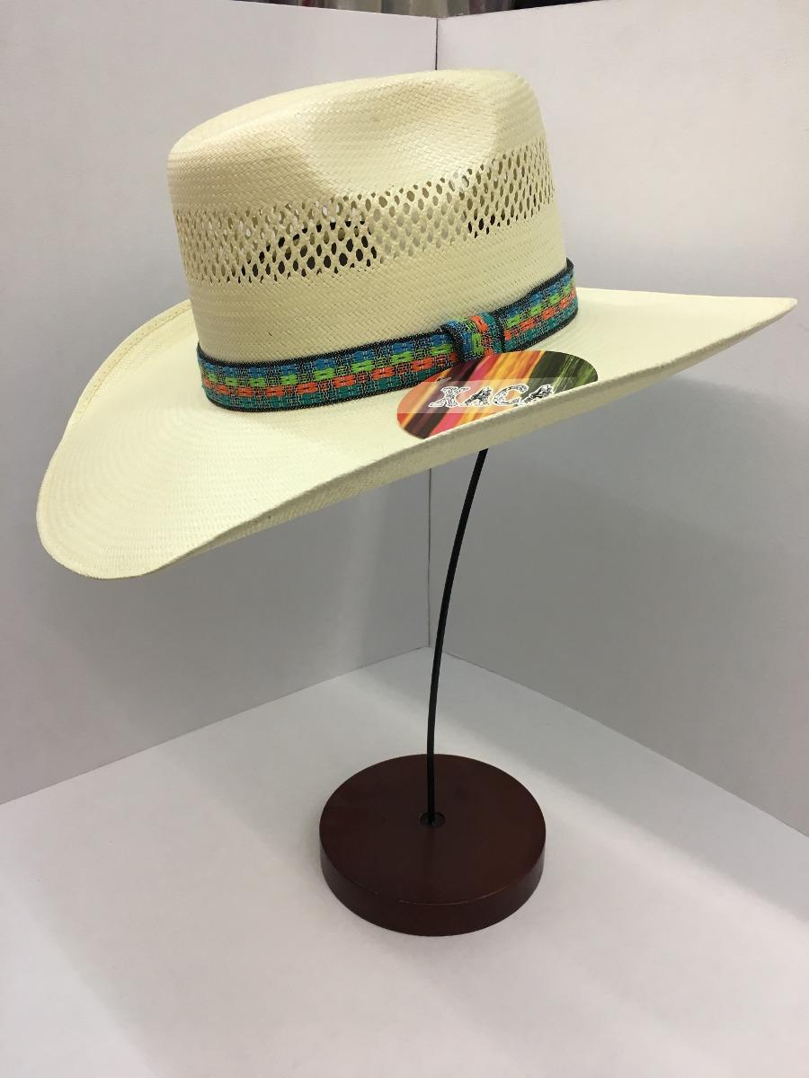 27c89ceaa842c Sombrero Horma Conejo Toquilla Bordado Oaxaca -   872.48 en Mercado ...