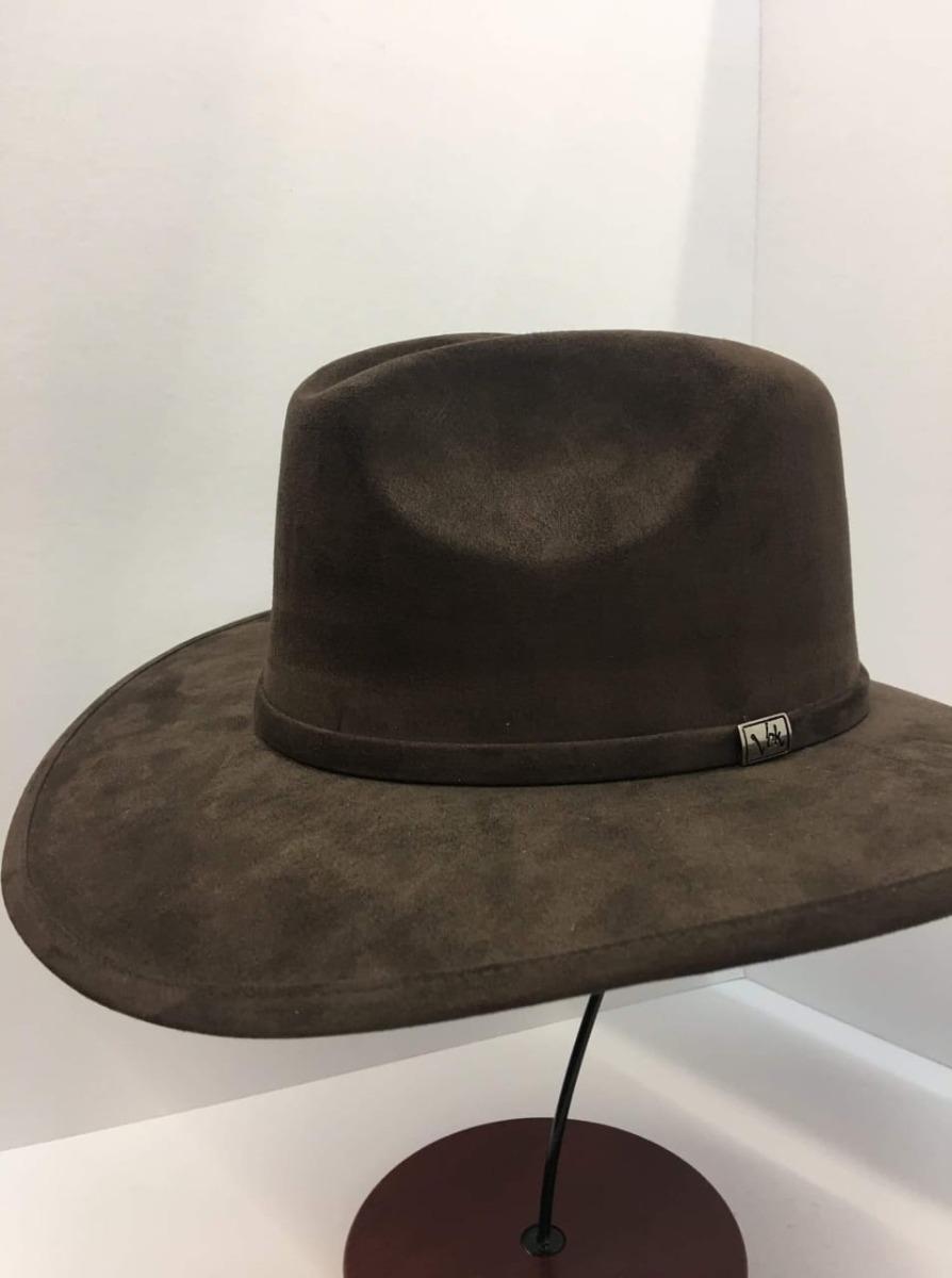 Sombrero Indiana Explorer Hipster Gamuza Calidad -   559.90 en ... ab0913bee09