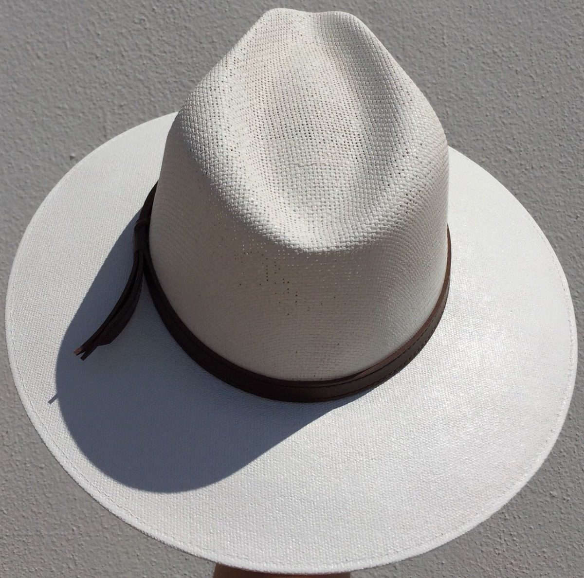 e44e70c6bf5a2 Sombrero Indiana Lona Mayoreo Y Menudeo Color Blanco -   277.00 en ...