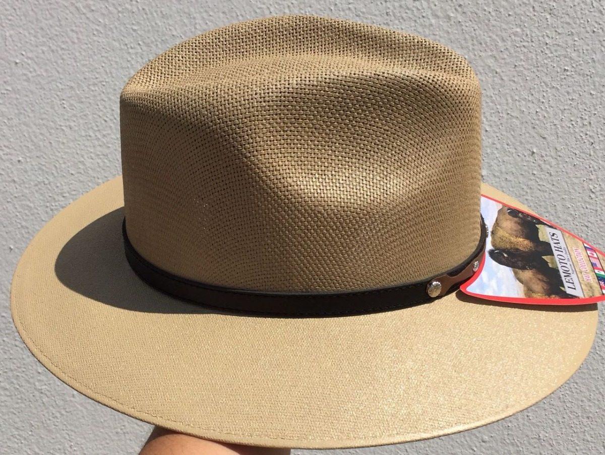 fecfe2df97472 Sombrero Indiana Lona Mayoreo Y Menudeo Color Moka -   277.00 en ...