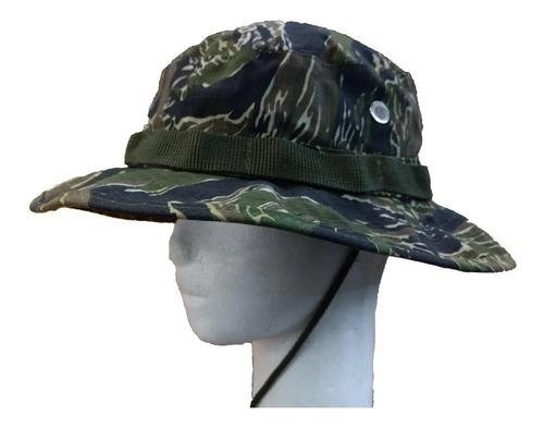 sombrero jungla monte bonnie hat camuflado tiger strip