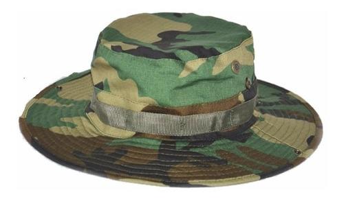 sombrero jungla monte bonnie hat camuflado woodland selva