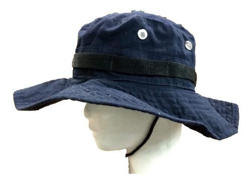 sombrero jungla monte tactico bonnie hat azul