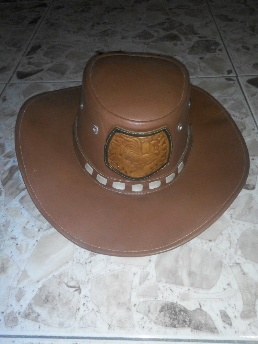 d5eec740a453f sombrero llanero vaquero de cuero 21x17. Cargando zoom.