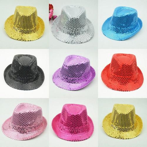 sombrero luminoso michel jackson fiesta fedora luz batucada