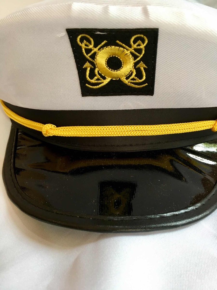 sombrero marinero capitan disfraz gorro gorra marino militar. Cargando zoom. 88b7ed55966