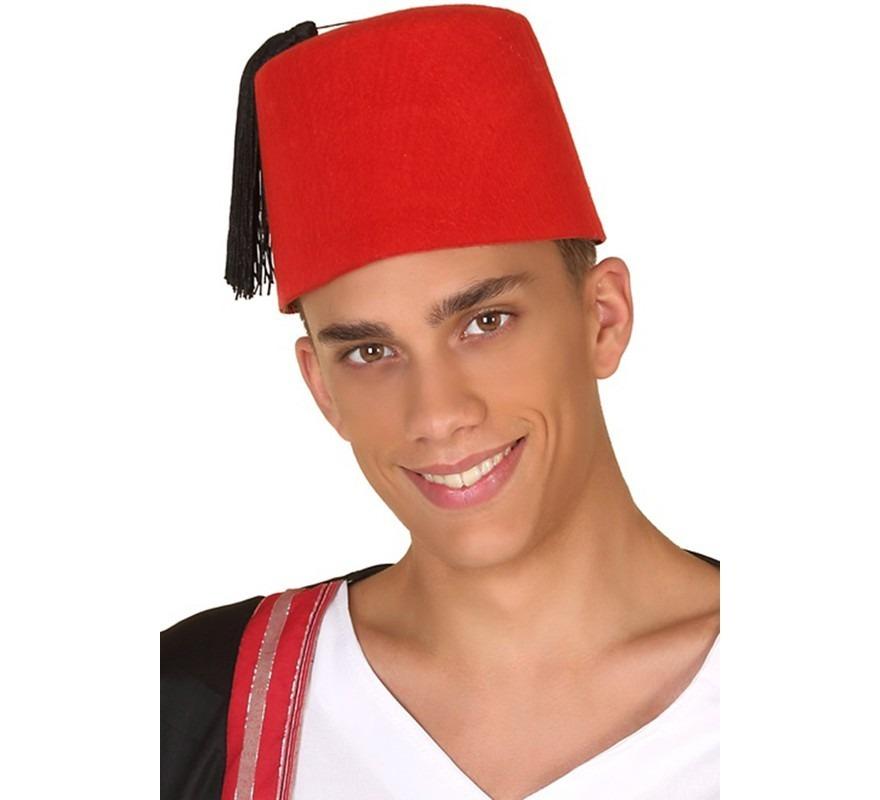 exuberante en diseño variedad de diseños y colores selección especial de Sombrero Marroqui Rojo
