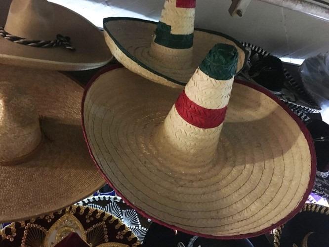 Sombrero Mexicano 16 Sept Zapata Fiestas Patrias Revolucion ... c35132dd264