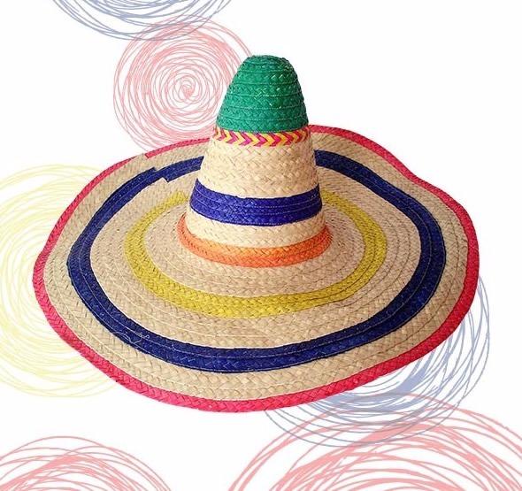2f51b40dc404d Sombrero Mexicano Color Caña Color Variados Talla Única Nuev ...