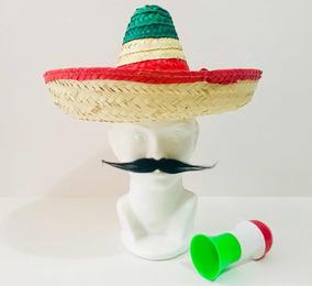 bebé gran venta de liquidación 100% de alta calidad Sombrero Mexicano De Palma, Tricolor