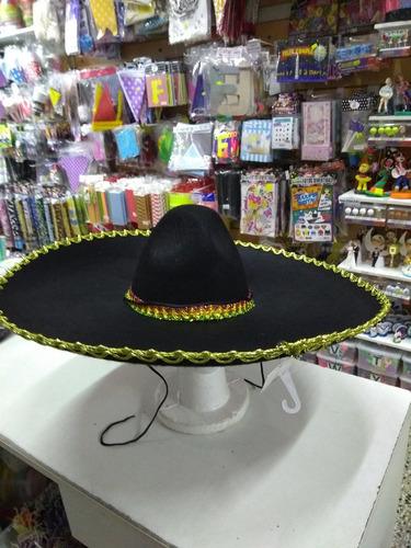 sombrero mexicano mariachi cotillon disfraz