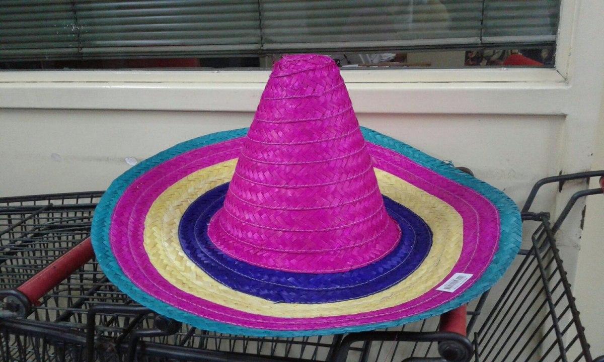 sombrero mexicano paja mariachi cotillon. Cargando zoom. 25345af5229