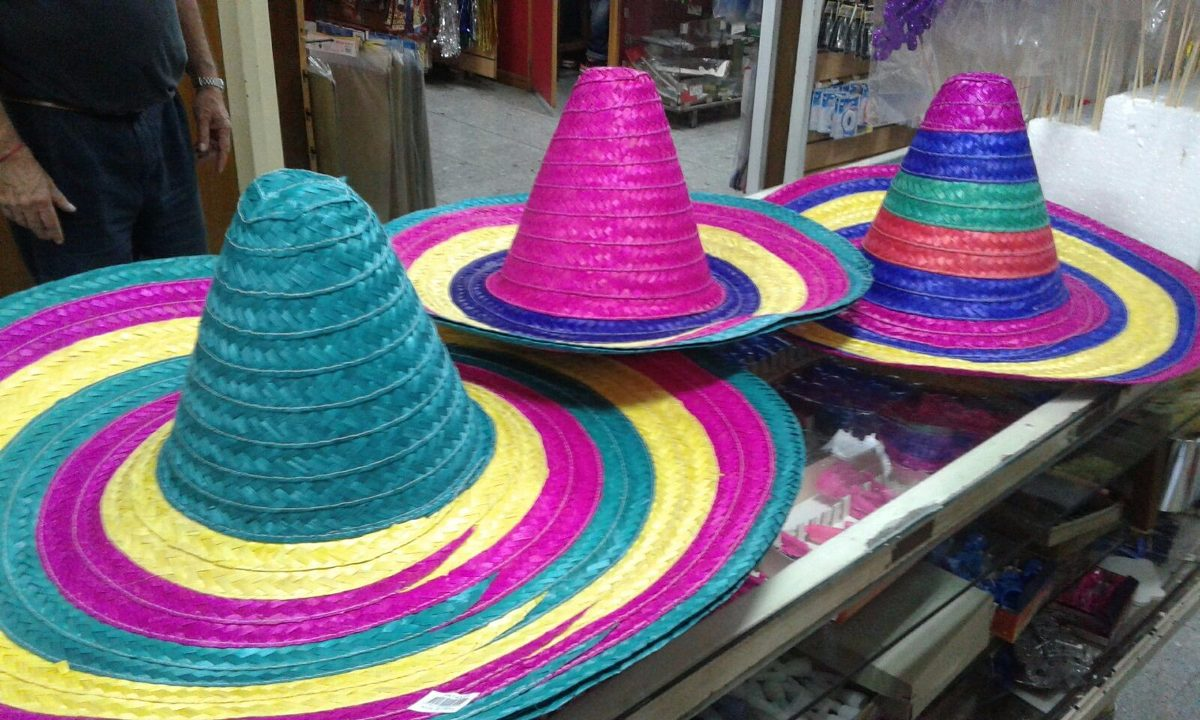 sombrero mexicano paja mariachi cotillon. Cargando zoom. a0a21de4687