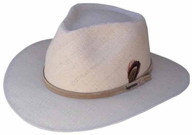 Sombrero Modelo Australiano De Rafia De Algodón Liverpool -   987 35f3150c3c1