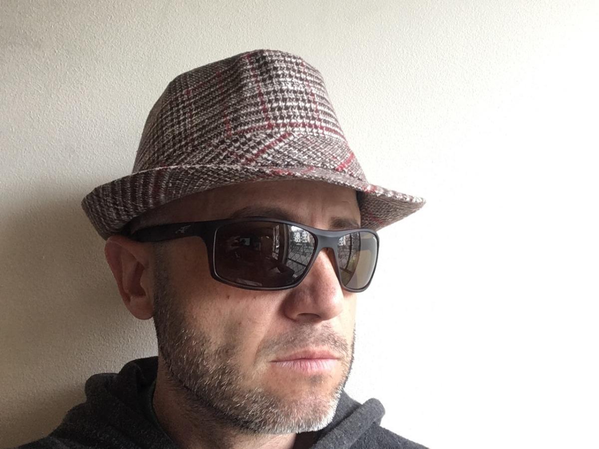 39d45405cb15 Sombrero Moderno Paño Elegante Vestido Hombre Caballero