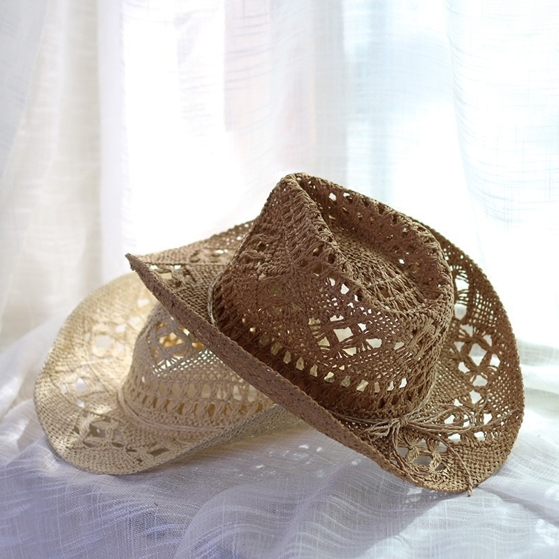 sombrero mujer cowboy playero piscina salida baño bikini. Cargando zoom. 2121078c6529