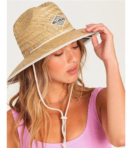 sombrero mujer tipton amarillo billabong
