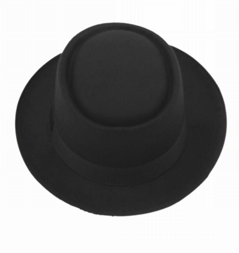 687051a07ad70 sombrero negro ala corta vintage hipster funky derby unisex. Cargando zoom.