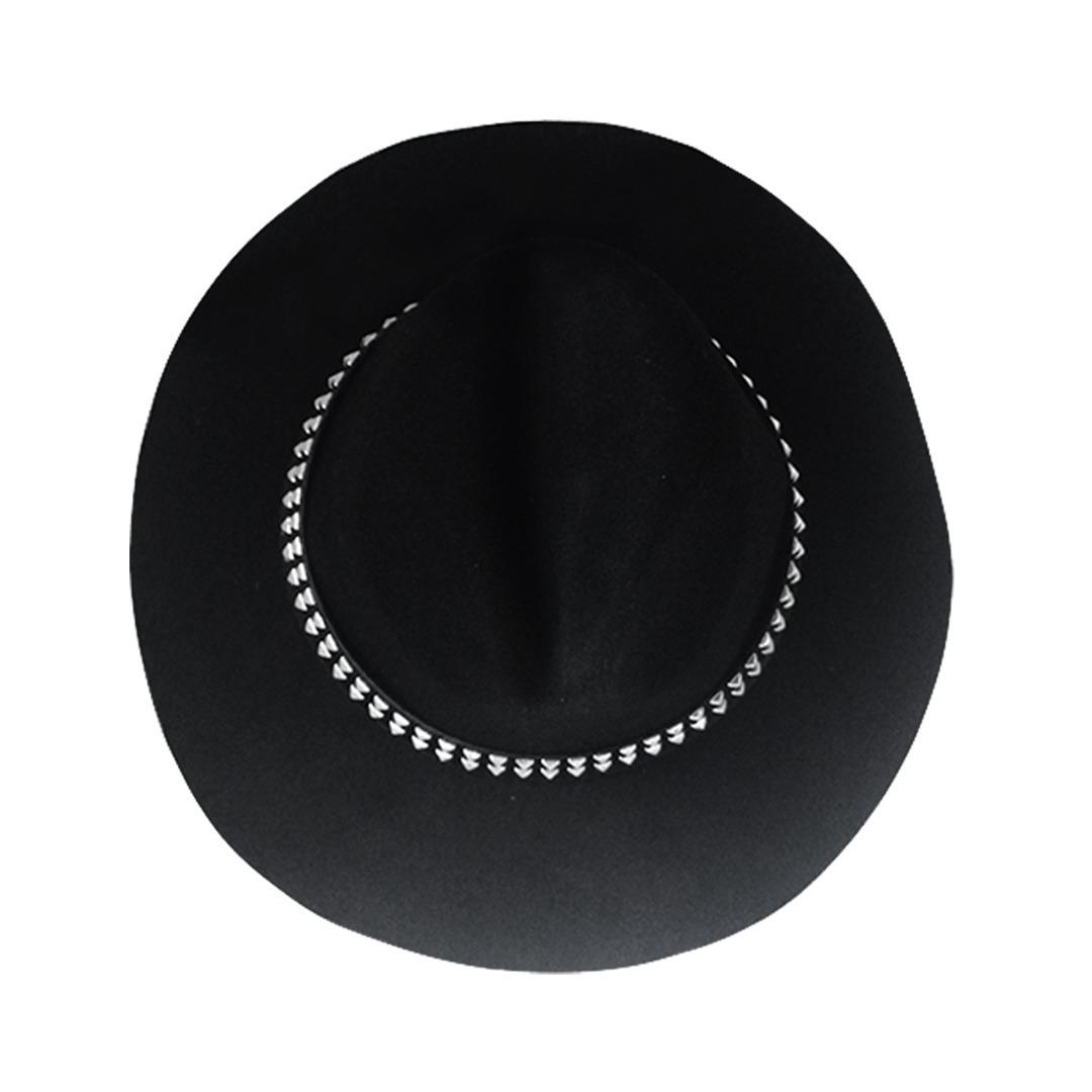 c56c4751ca868 sombrero negro con tachas - black moon. Cargando zoom.