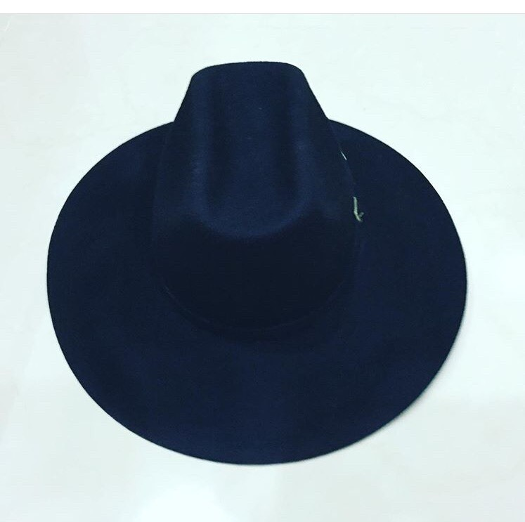 Sombrero Negro Vanwho Hipster Vintage Ala 10 Cm -   750.00 en ... 61bcf211d1c