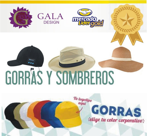 Sombrero Nena. Capelinas De Verano X Mayor !! Gala Design -   299 fb1f372f862