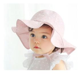 4c642227 Sombrero Niña Bebe Bucket Para Sol Ligero Ajustable Fresco