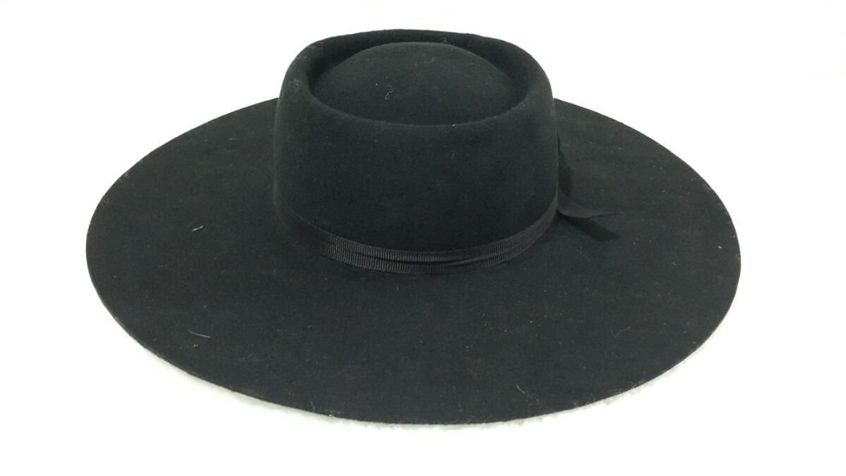 3cca89e5f5ee3 Sombrero Norteño Ala 10 De Paño P  Baile De Gaucho   Malambo ...