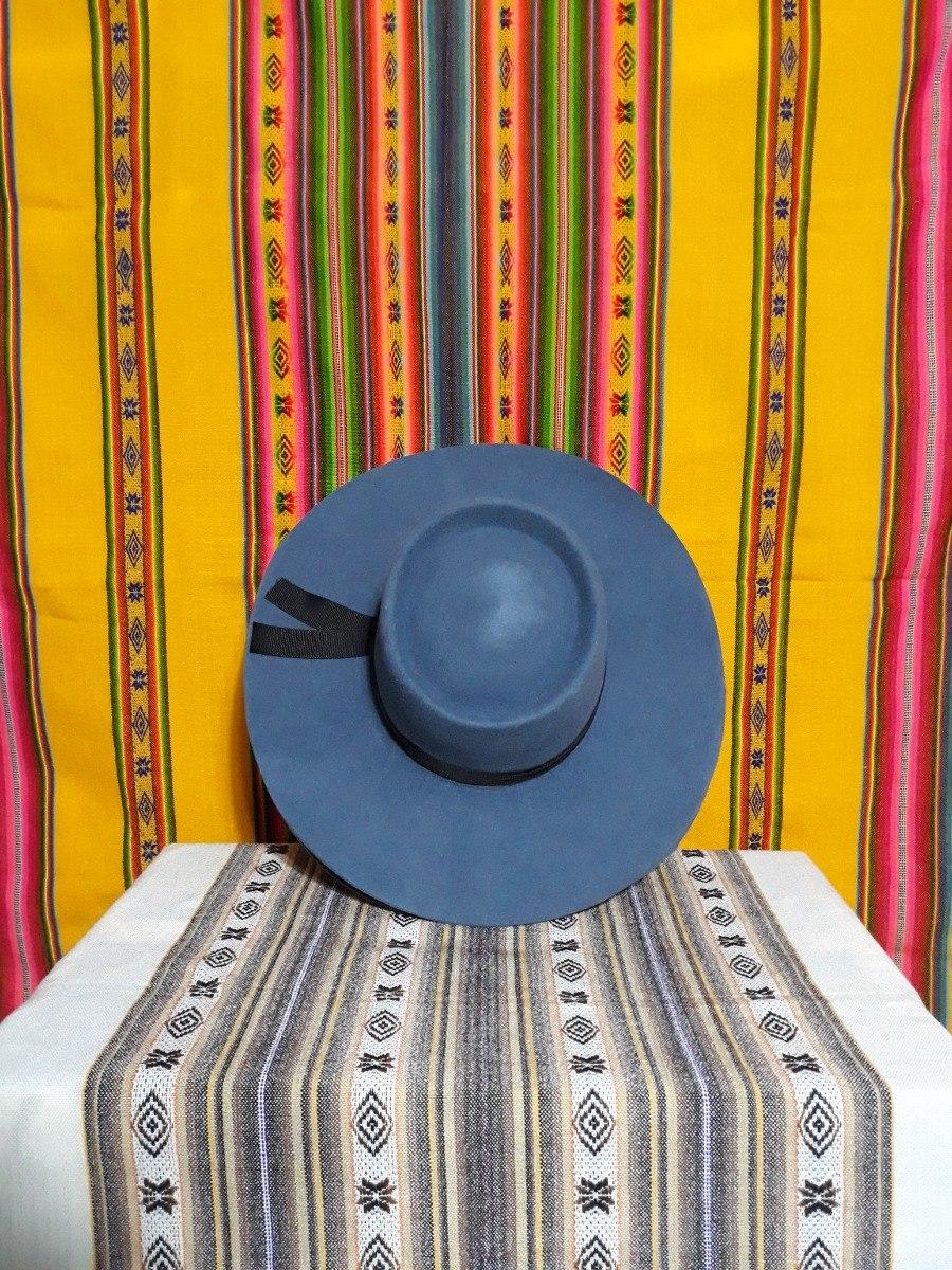 Sombrero Norteño De Paño Varios Colores Talles Alas Gaucho -   1.400 ... b135afa491d