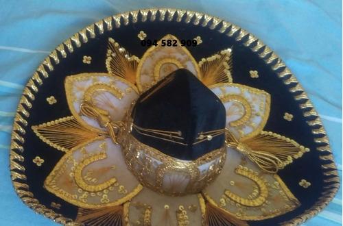 sombrero original de mariachi impecable