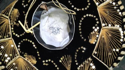 sombrero original mariachi traido de mexico fab.belri