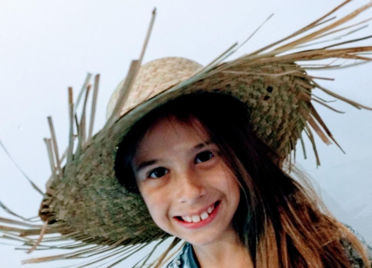 32260e94b70cb sombrero paisano paja con flecos unisex infantil adulto. Cargando zoom.