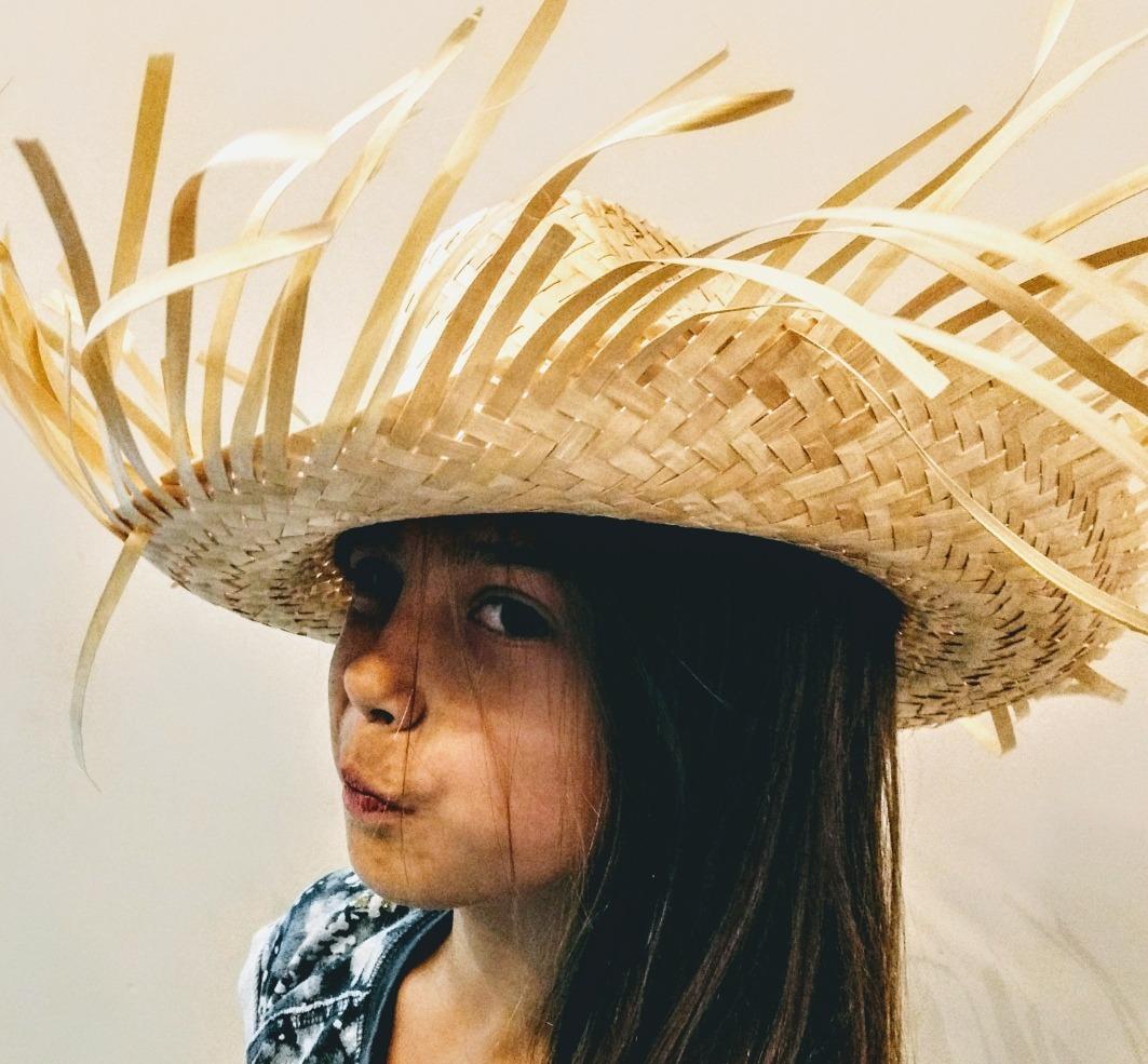 eaad763d82558 sombrero paja campesino con flecos unisex adulto infantil. Cargando zoom.