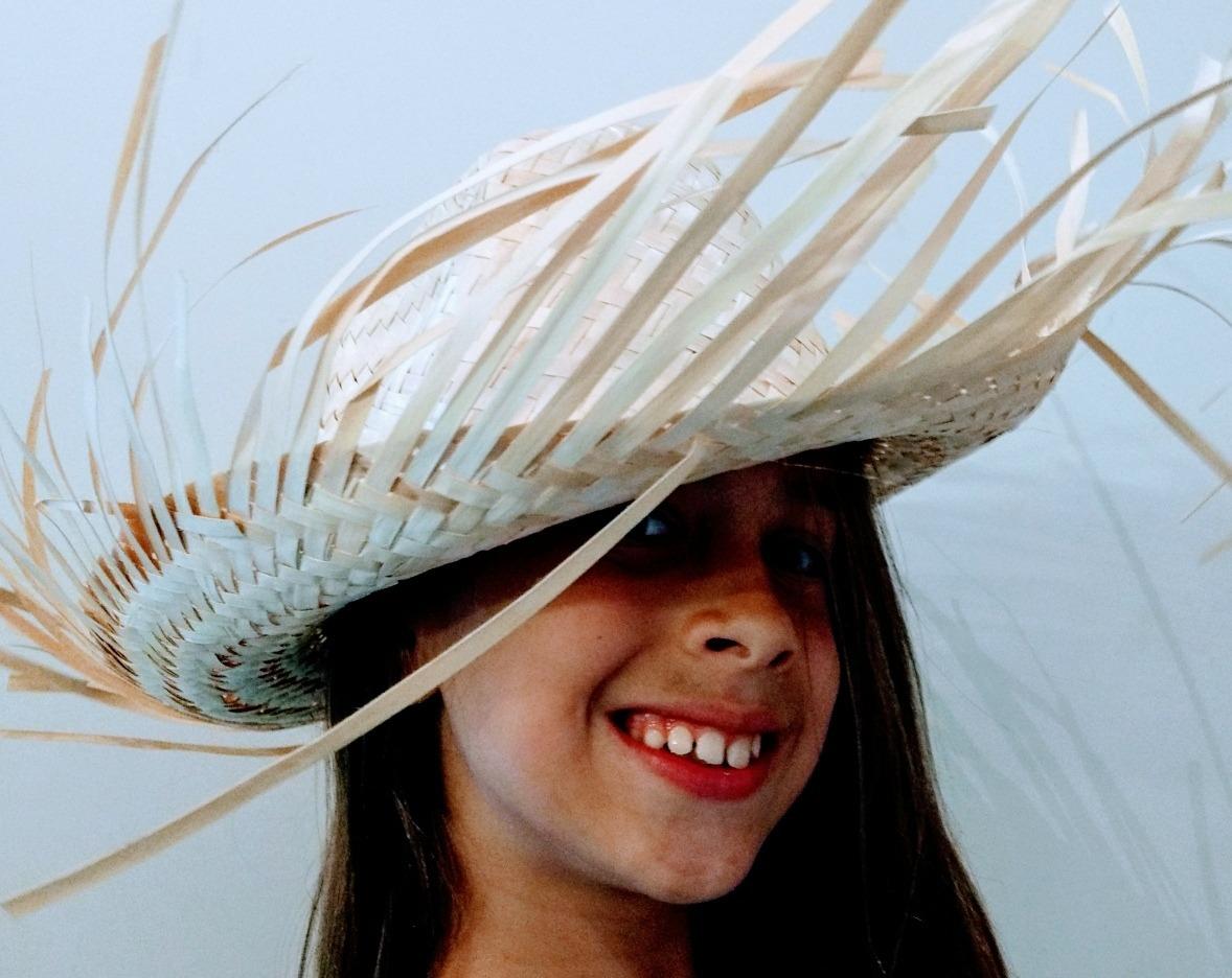 9da6ff449ffaa sombrero paja campesino con flecos unisex infantil. Cargando zoom.