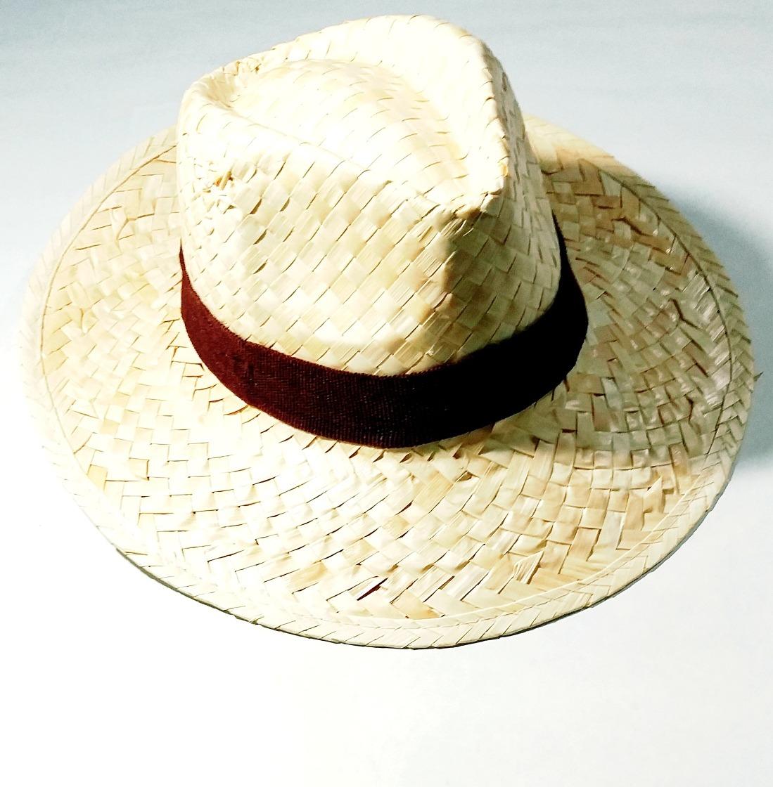 2ec62c54729c1 sombrero paja campesino desflecado infantil adulto unisex. Cargando zoom.