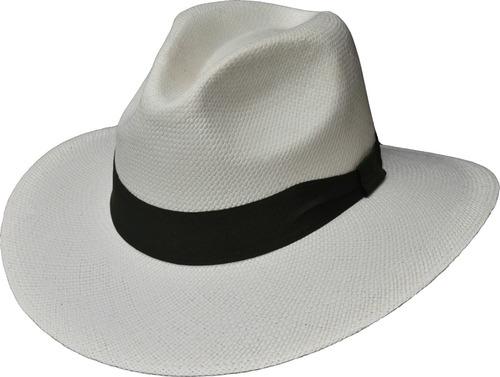 sombrero paja toquilla brisa tejido a mano ref. lusitano