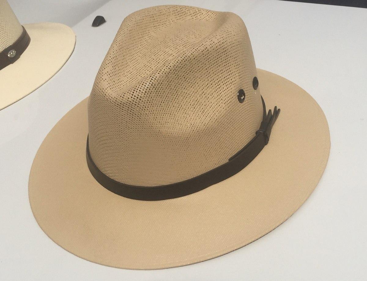 Sombrero Panama Hilo Pintado Para Playa -   550.00 en Mercado Libre 4137ed32ef6