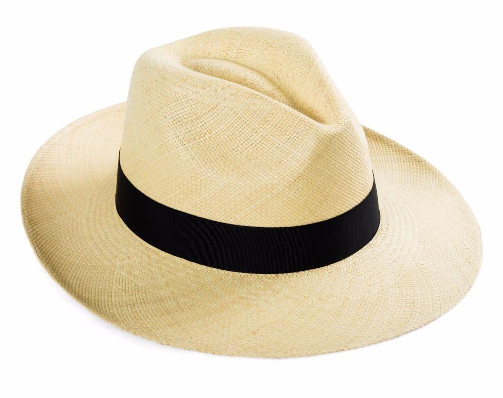 Sombrero Panama Original Marfil. De Paja 4aa7bddafca