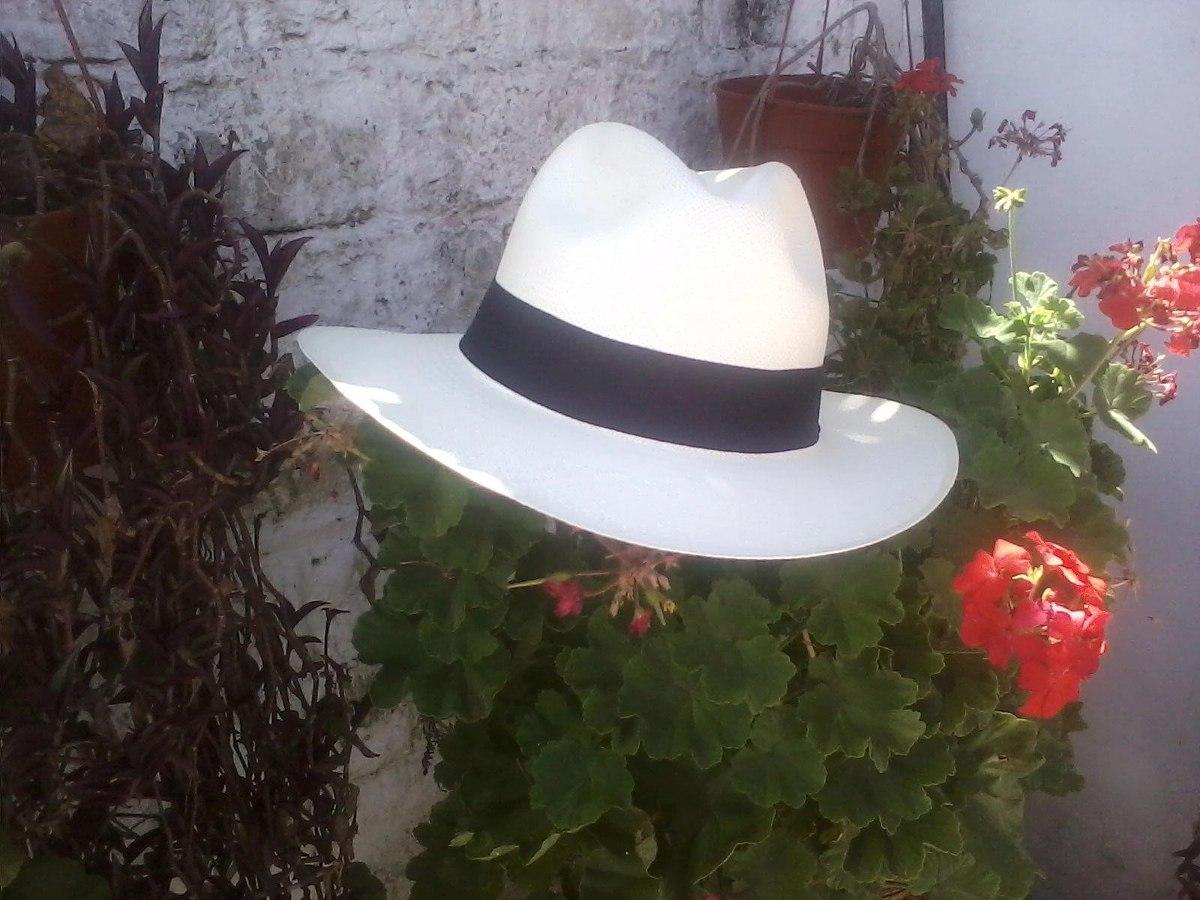 sombrero panamá original paja toquilla ecuatoriana. Cargando zoom. d2ec1b7634ba