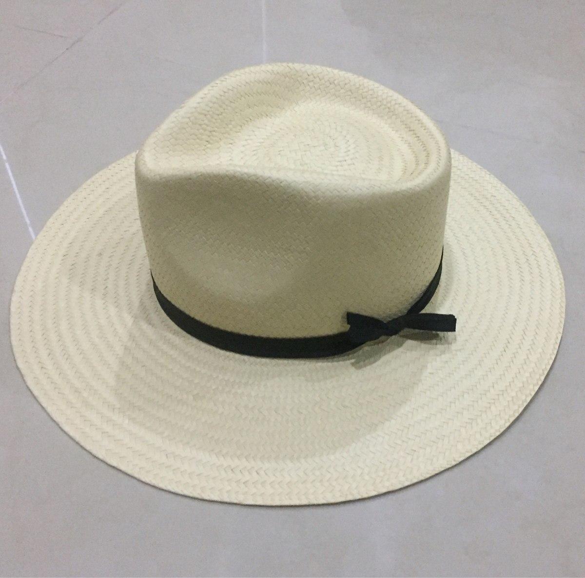 5ec6c184e6c4d Sombrero Panameño De Palma Hecho A Mano Yucateco -   550.00 en ...