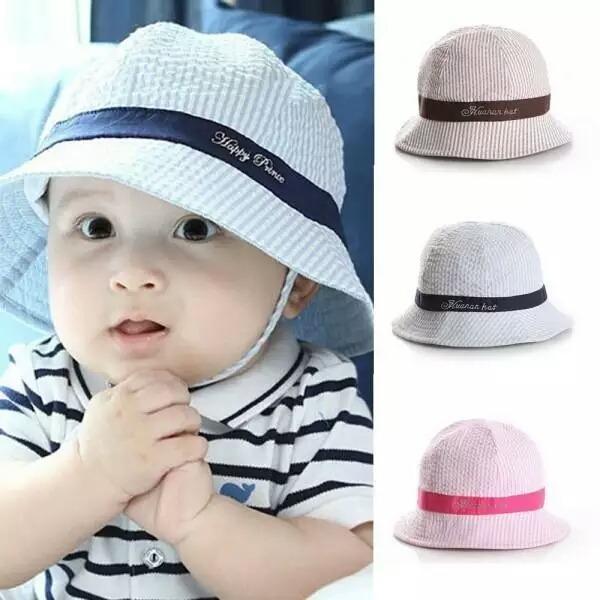 5dac50a043164 Sombrero Para Bebé De Verano Sol Playa Bebé - S  20