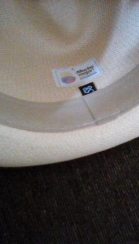 sombrero para caballero borsalino italiano en paja toquilla