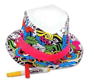 Decorar Para Juguetes Nenas Marcadores Sombrero Con Pintar 08OXnwPk