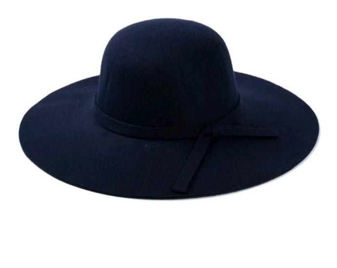encanto de costo venta caliente real mayor selección Sombrero Pava Fedora En Paño Para Mujer Talla Ajustable